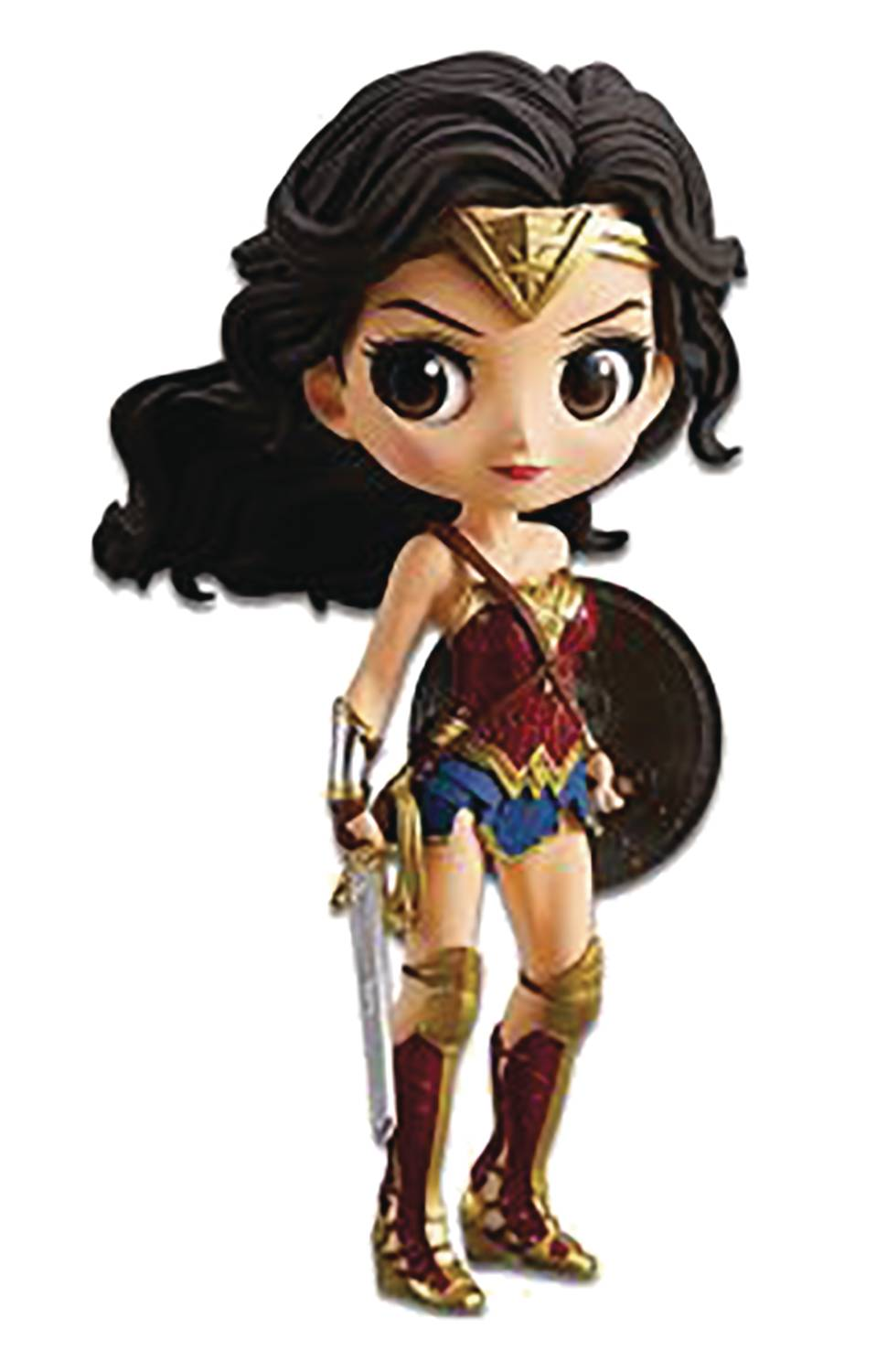 Banpresto DC Justice League Wonder Woman Q-Posket Figure